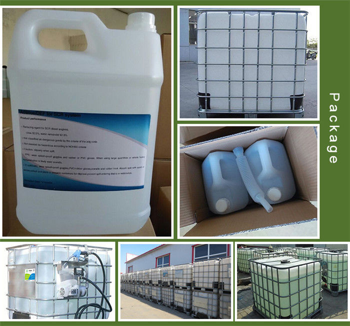 Colourless Adblue Diesel Additive / Adblue Water In SCR System DIN 70070 Standard